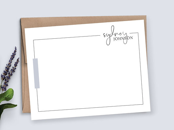 Minimalist Line Note Cards - MS10