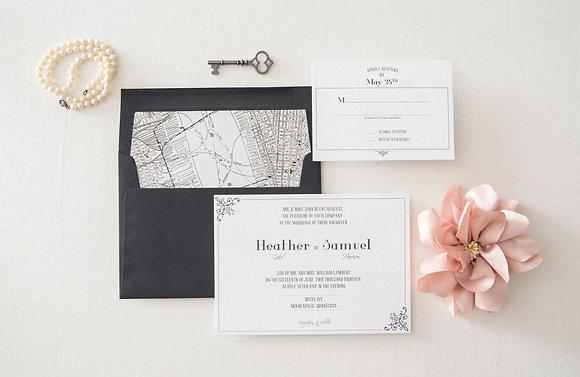 Simply Classy Invitation