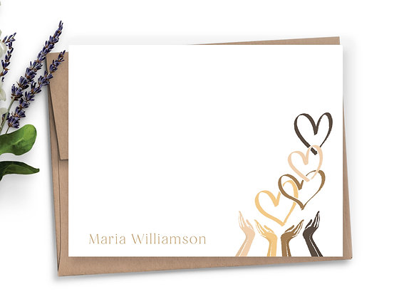 Spread the Love Personalized Stationery