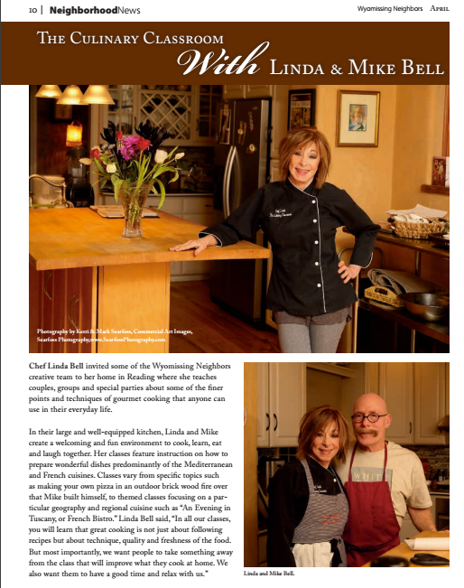 Wyomissing Neighbors Magazine: The Culinary Classroom with Linda and Mike Bell