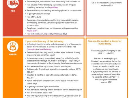 Advice for parents during coronavirus