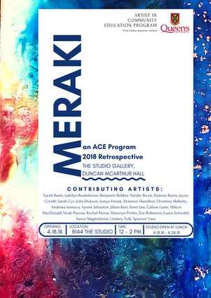 Meraki: An ACE Program 2018 Retrospective