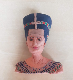 Inspired by the Nefertiti bust