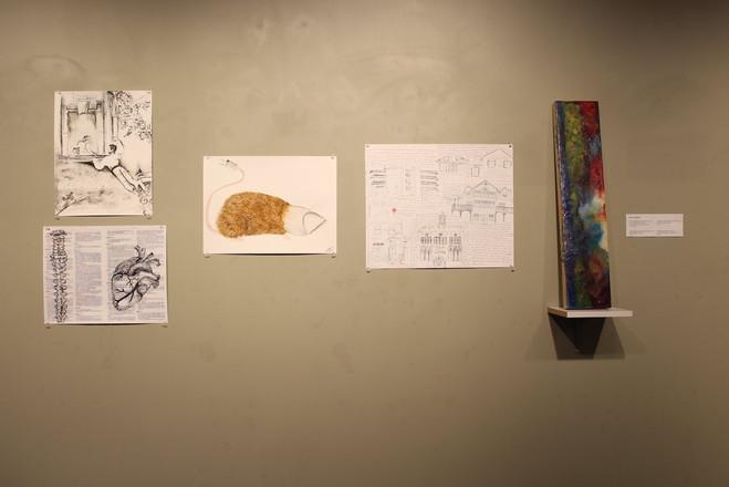 My work on display in Meraki