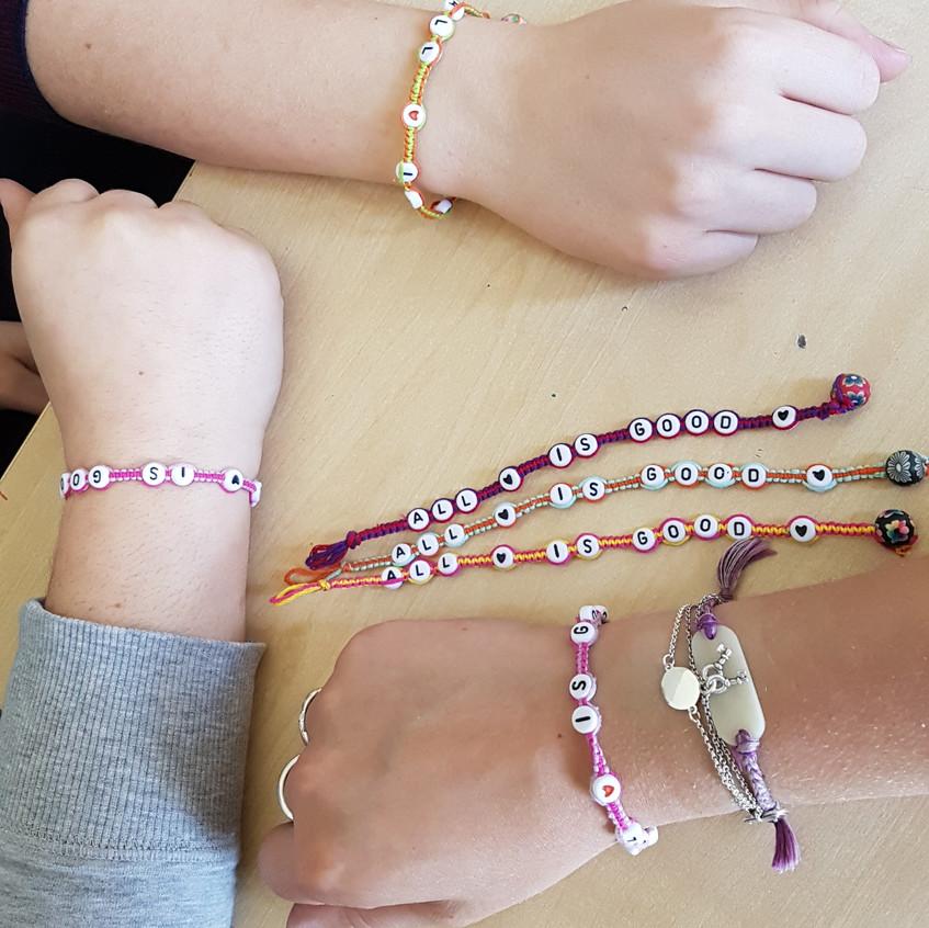 ALL ♥ IS GOOD ♥ bracelets