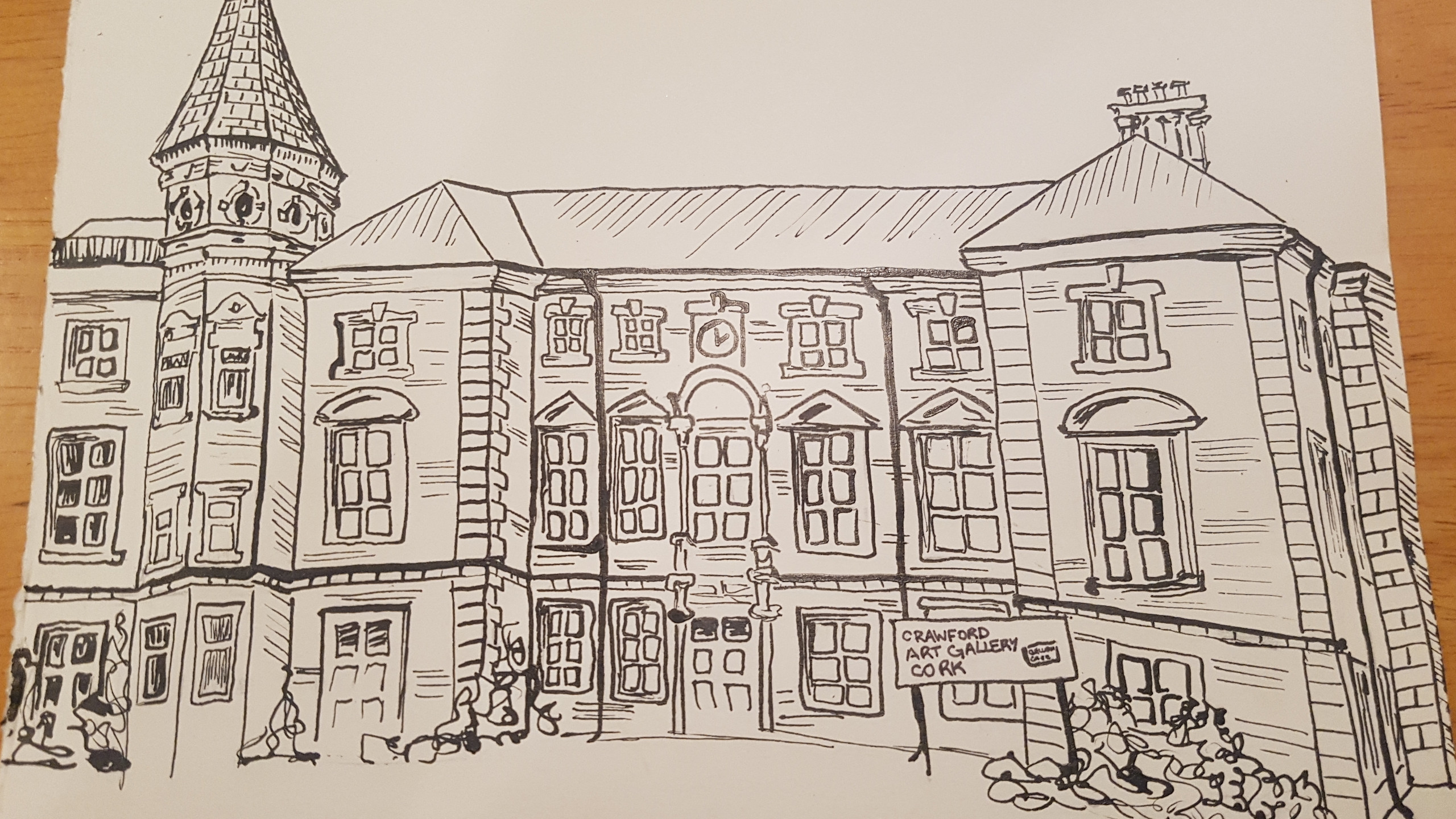 Drawing of the Gallery
