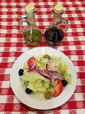Small Salad Nino's Pizza Mastic Beach NY