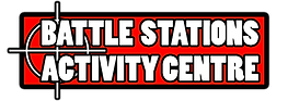 LOGO FOR BATTLE STATIONS ACTIVITY CENTRE