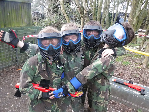 LOW IMPACT PAINTBALL PARTY AT BATTLE STATIONS ACTIVITY CENTRE