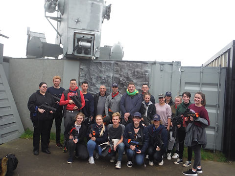 LASER TAG TEAM BUILDING AT BATTLE STATIONS ACTIVITY CENTRE