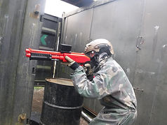 BIRTHDAY PARTY LOW IMPACT PAINTBALL AT BATTLE STATIONS ACTIVITY CENTRE