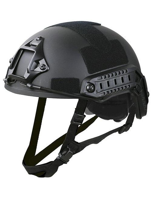 Fast Helmet Replica Black, Green, Tan