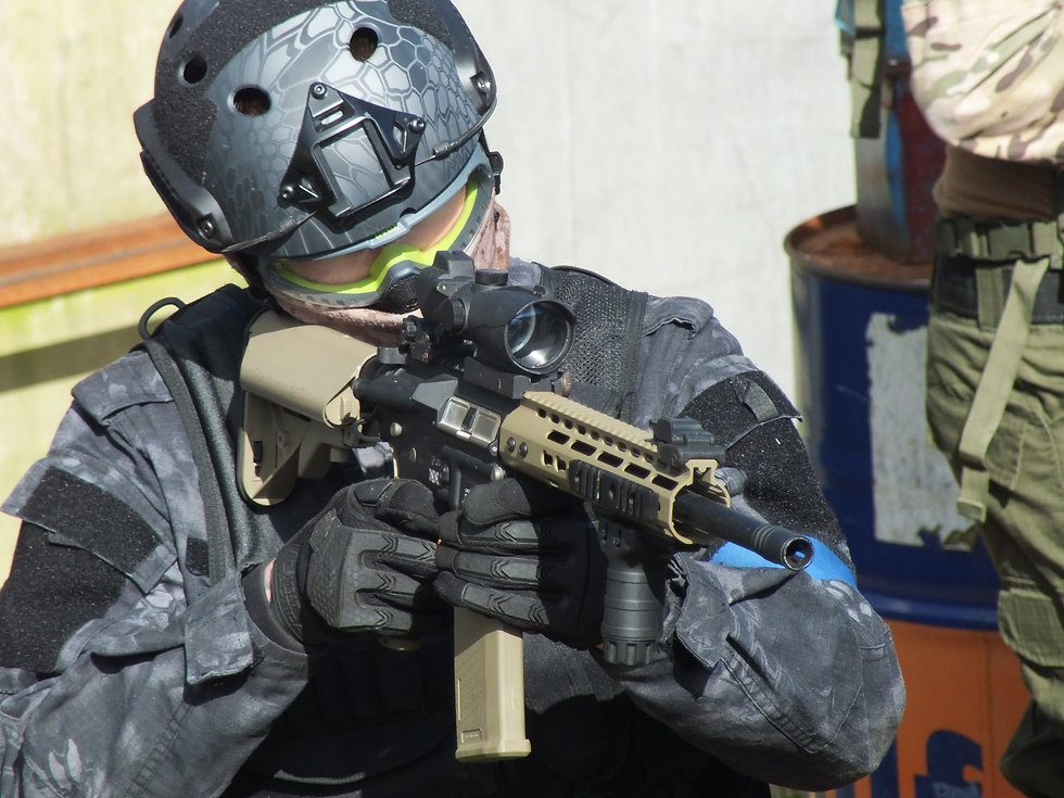 Airsoft at Battle Stations Activity centre
