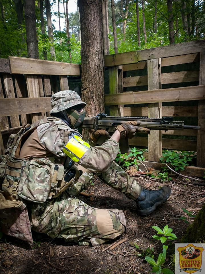 Airsoft at Hunting Grounds