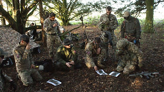 AIRSOFT MILSIM PLAYERS PLANNING FOR A ISSION