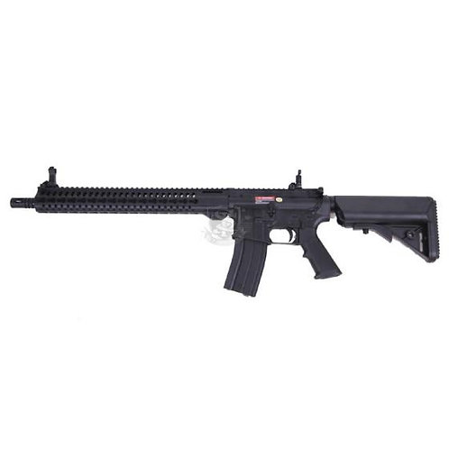 "S&T M4 SLIM KEYMOD 15"" GBB BK"