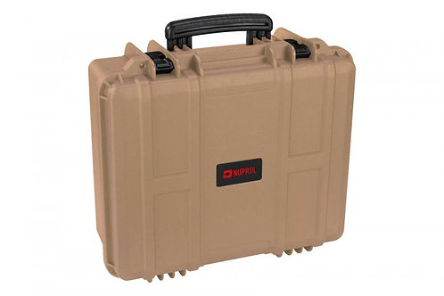 NP MEDIUM EQUIPMENT HARD CASE TAN