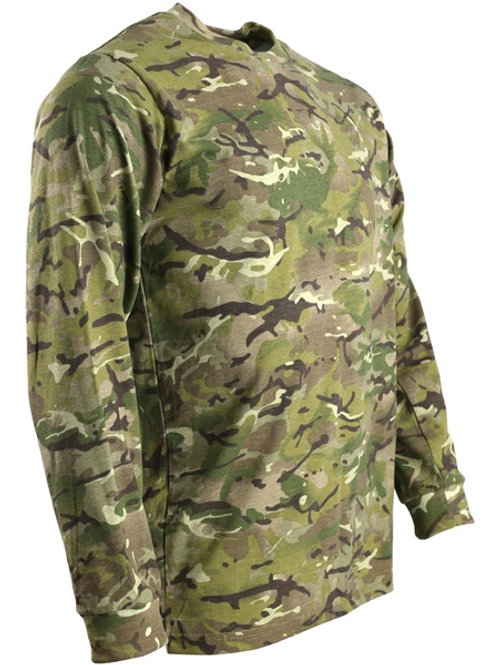 Military Camo T-shirt LONG SLEEVE