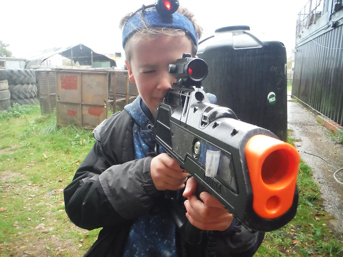 LASER TAG PLAYER