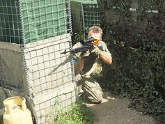 AIRSOFT SNIPER AT BATTLE AIRSOFT CQB CENTRE