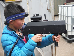 LASER TAG YOUNG PLAYER AT BATTLE STATIONS ACTIVITY CENTRE