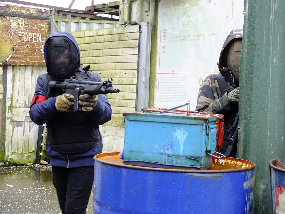 Low-Impact Airsoft at Batle Stations