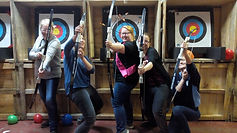 ARCHERY PARTY AT BATTLE STATIONS ACTIVITY CENTRE