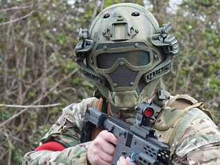 CLOSE AND PERSONAL AT BATTLE AIRSOFT CQB