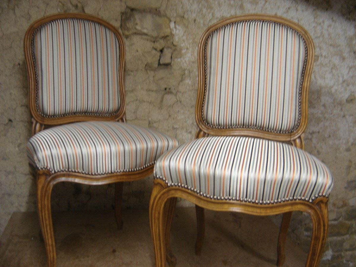 Chaises style Louis XV
