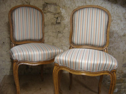 Chaises style Louis XV