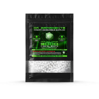 DK ARMAMENTS Green Tracer 0.20g & 0.25g Match Grade