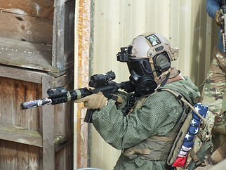 INTO ACTION AT BATTLE AIRSOFT CQB CENTRE