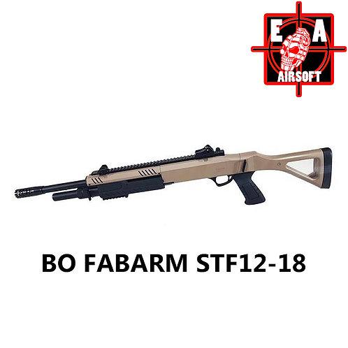 """FABARM SFT12  18"""" FDE SPRING Shotgun"""