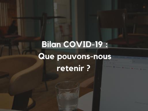 Bilan Covid-19