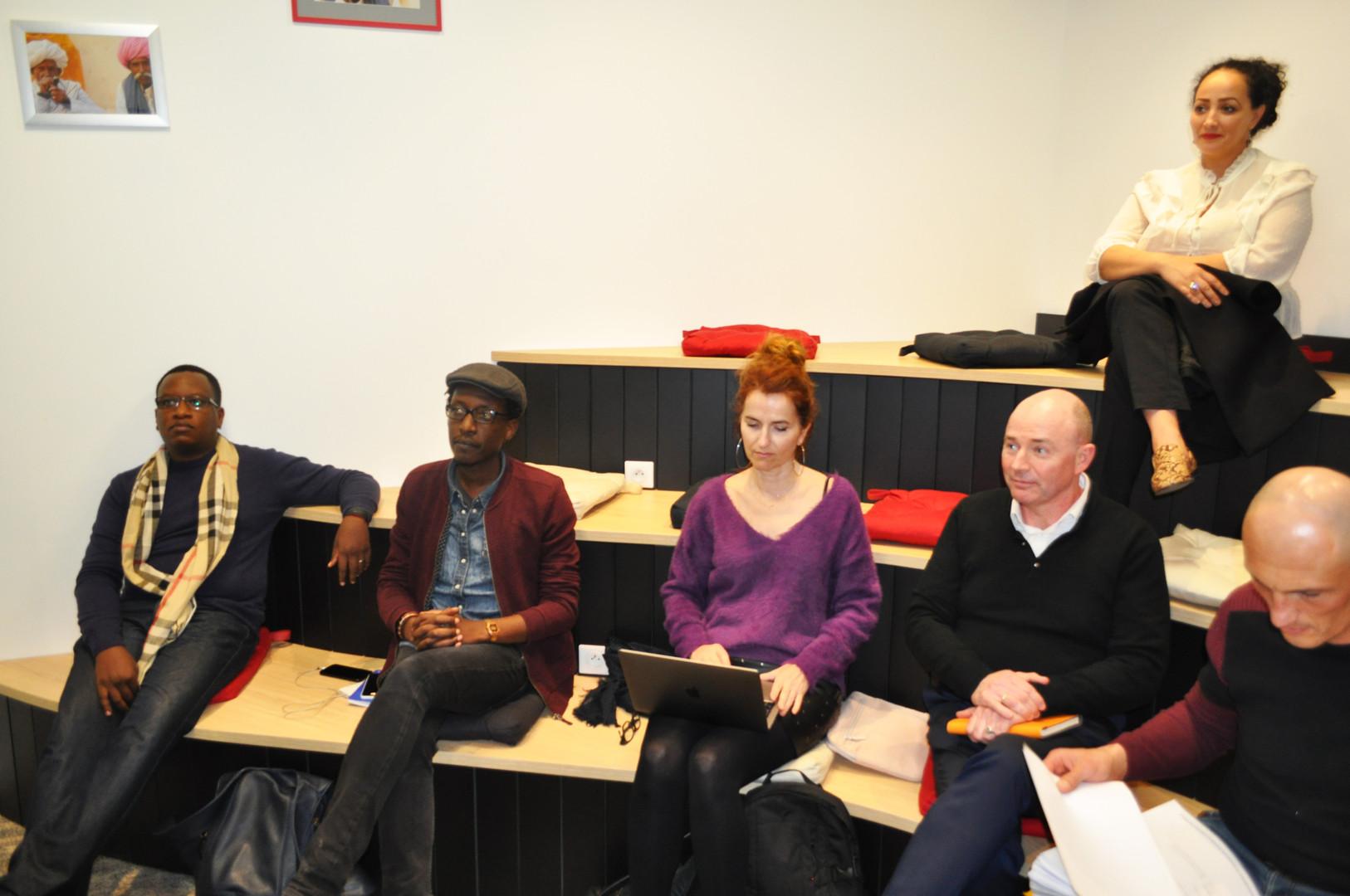 Auditorium Classe Entrepreneurs