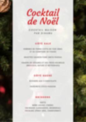 Cocktail de Noël Clockwork