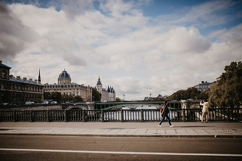 Fine-Art-Print Pariser Brücke