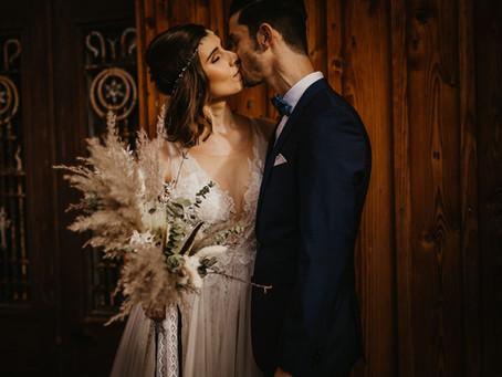 Boho-Hochzeit im Landgut Lingental - Wundervolle Hochzeitsfotos in Heidelberg