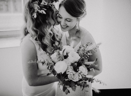 Jessie&Annika - Wundervolle Hochzeitsfotos im Landgut Lingental