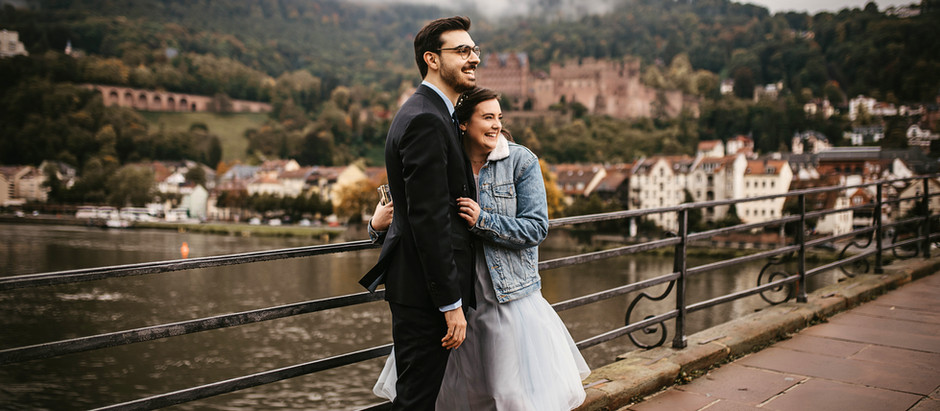 Sophia & Christian - Nur zu zweit in der Heidelberger Altstadt