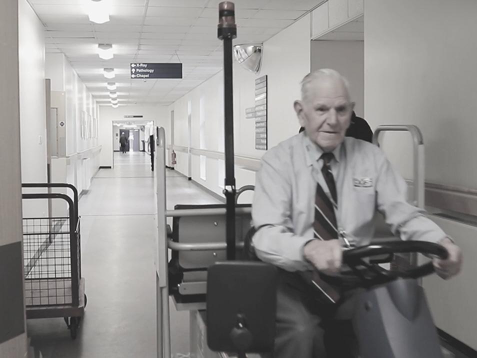 VIDEO : UHA LIFETIME SERVICE WINNER : HARRY MERCER