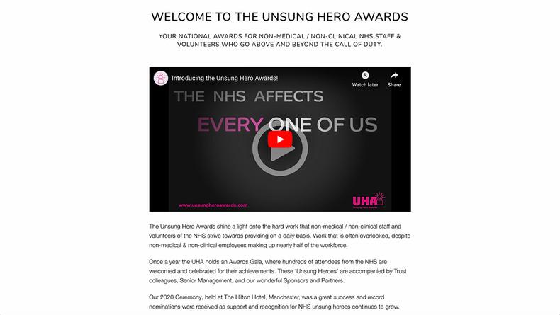 UHA Video page