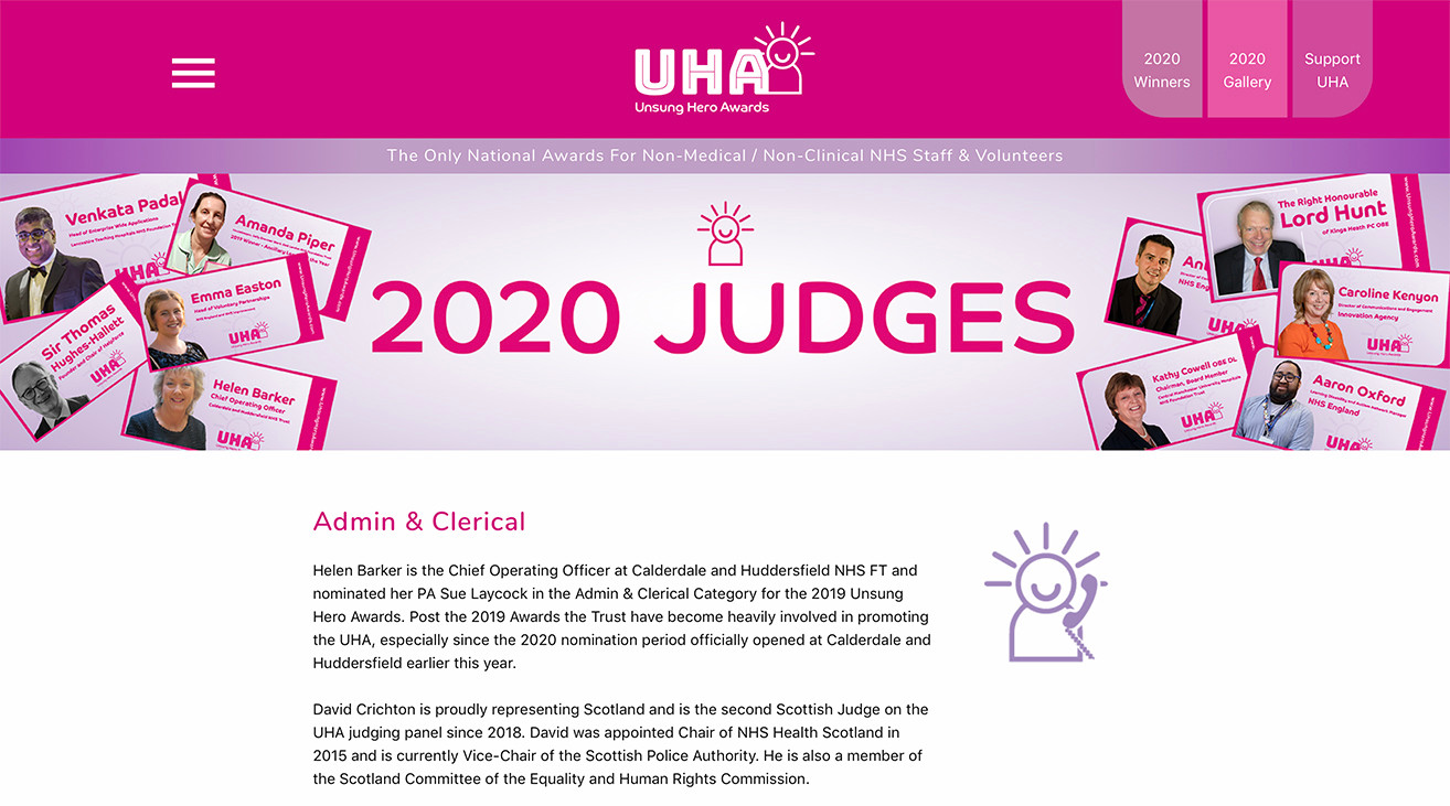 UHA Judges Page