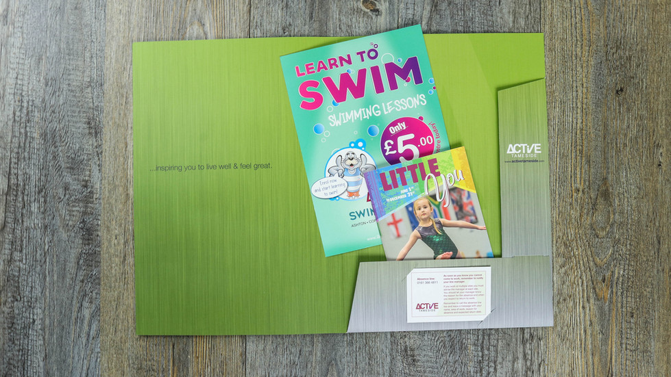 WELCOME PACKS •Active Tameside