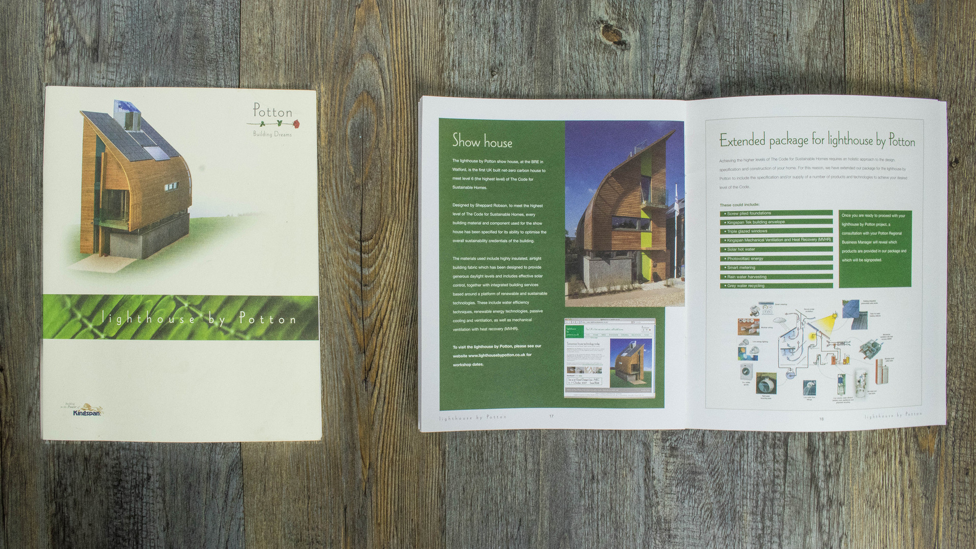 COFFEE TABLE BROCHURES • Kingspan