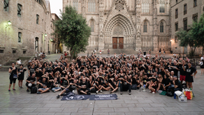 Anonymous for the Voiceless Barcelona 1 year Anniversary