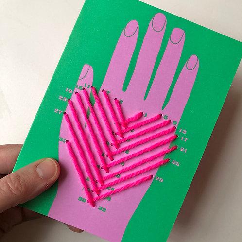 DOT-TO-DOT HEART CARD