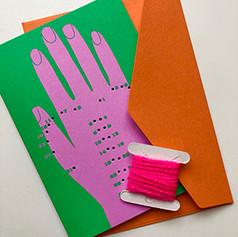 heart in hand card kit