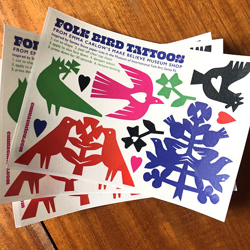 Folk Tattoos
