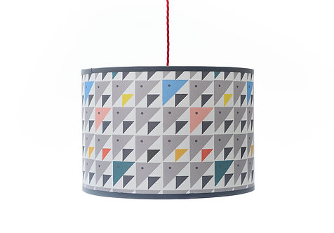 Tangram Triangles lampshade